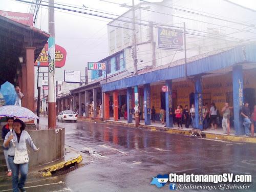 Lluvias afectan a Chalatenango y al país