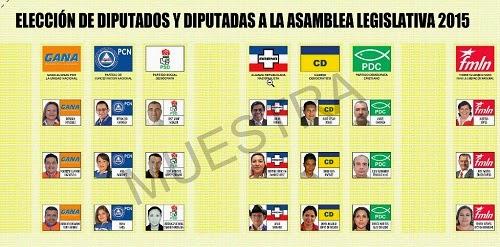 Elecciones 2015: Cómo votar en Chalatenango