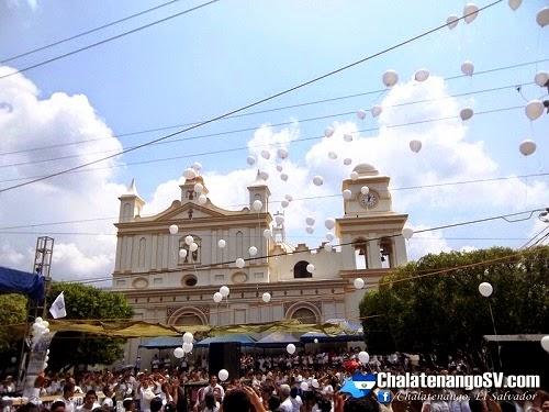 Marcha por la paz en Chalatenango