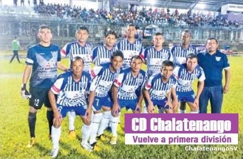 CD Chalatenango vuelve a primera división en El Salvador