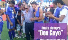 Don Gregorio Martínez nos dijo adios