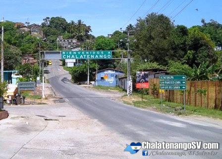 Entrada a la ciudad de Chalatenango