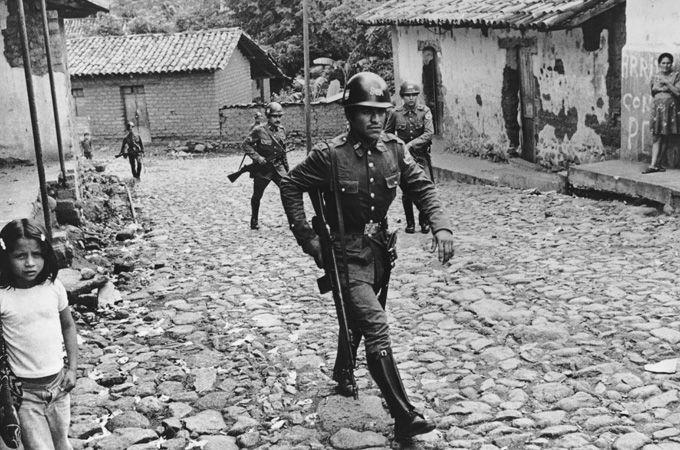 Guardia Nacional en Ojos de Agua (1979)