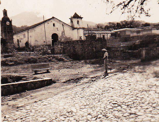 Iglesia antigua de La Palma (1926)