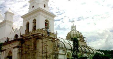 Restauración de Catedral de Chalatenango (2011)