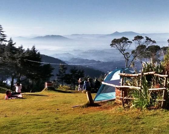 Acampar en el cerro El Pital