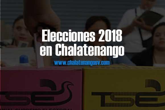 Elecciones 2018 en Chalatenango